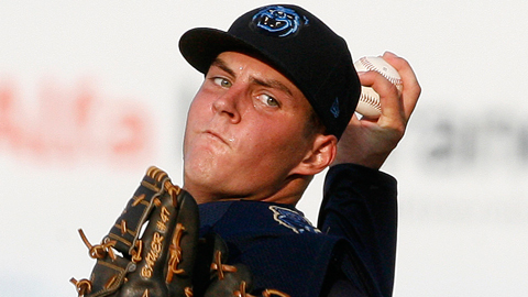 Trevor Bauer appeared in seven games across two Minor League levels last season.