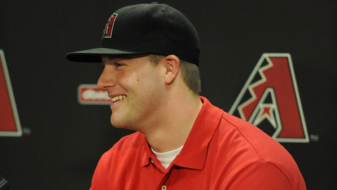 Archie Bradley was selected with the seventh overall pick in June.