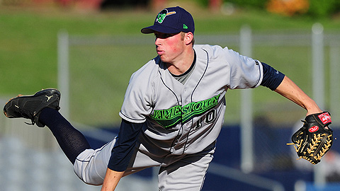 Matt Milroy had 30 strikeouts in 35 innings for the Jammers this year.